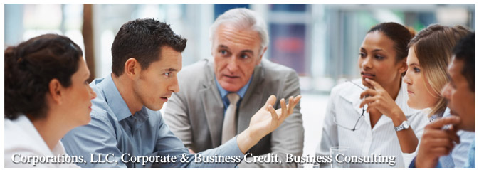 Corporations, LLC, Corporate & Business Credit, Business Consulting